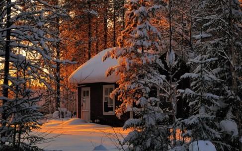 Зимние каникулы: уютные дома