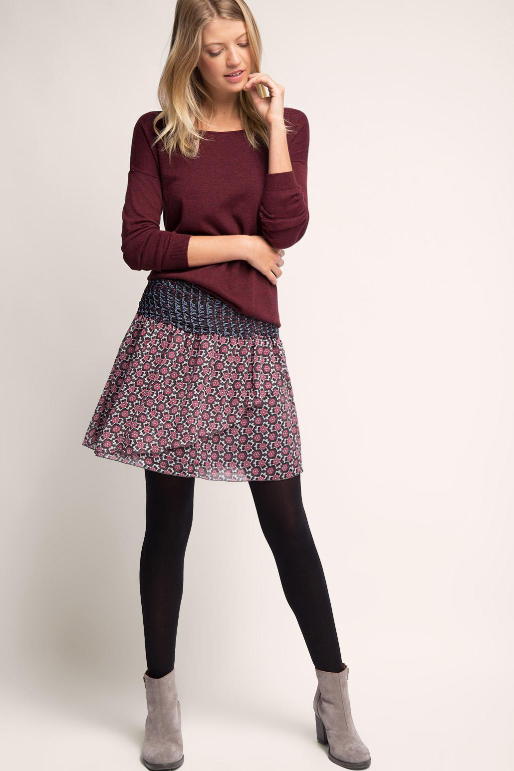 ccc43a9974e В качестве отделки актуальных моделей юбок этой зимой и весной выступает  крой. В моде подол асимметричной формы