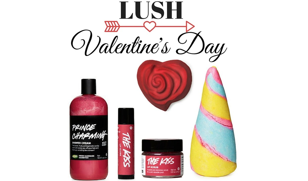 Lush подготовил лимитированную коллекцию, посвященную Дню Святого Валентина