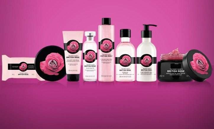 The Body Shop посвятил коллекцию английской розе