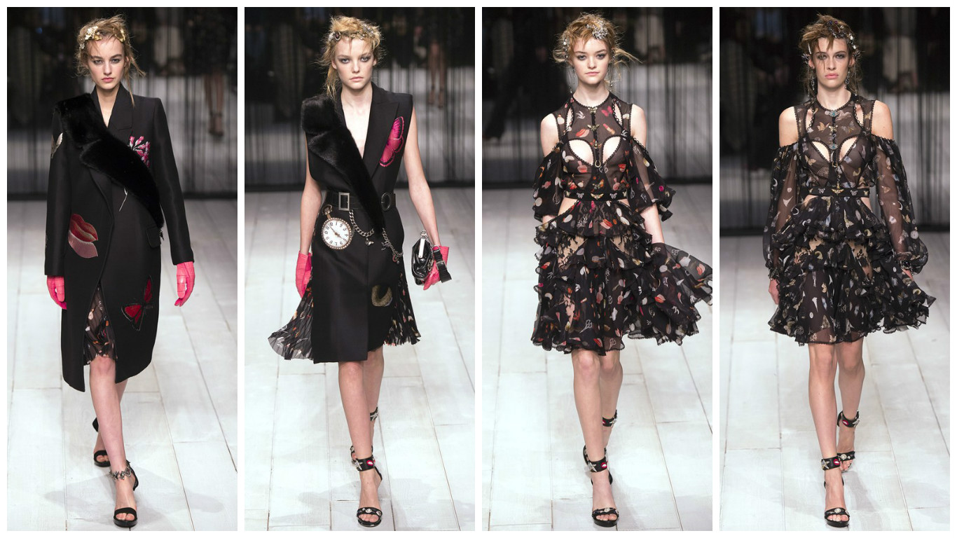 London Fashion Week: показ Alexander McQueen