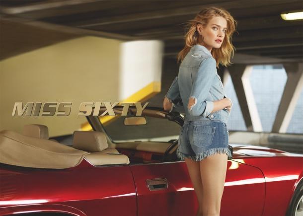 Наталья Водянова стала звездой рекламной кампании Miss Sixty
