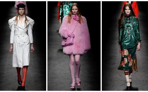 Открытие Недели моды в Милане: Gucci осень-зима 2016/17