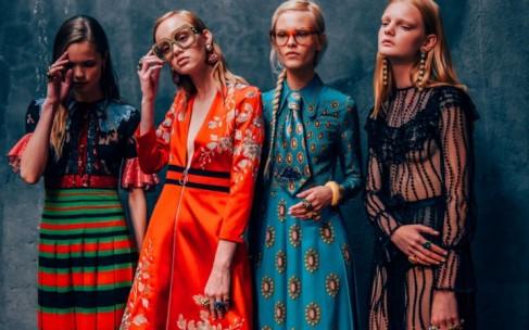 Весенняя коллекция Gucci стала «звездой» глянцевых журналов