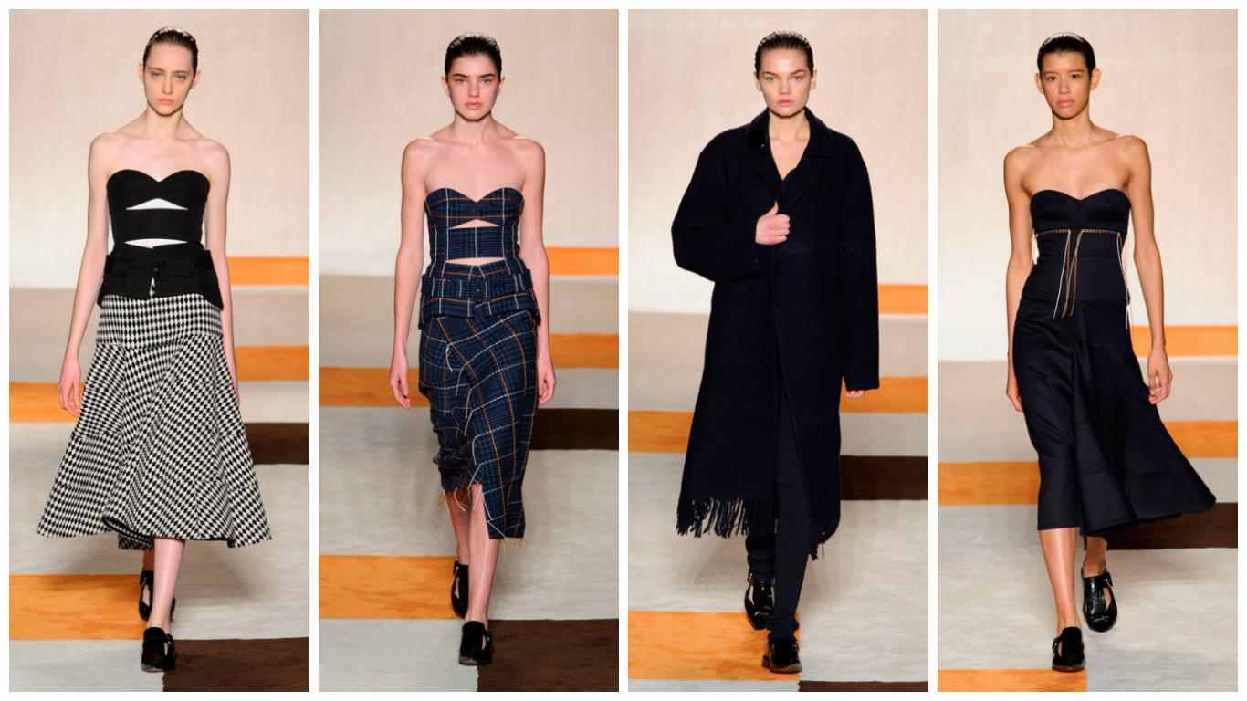 Неделя моды в Нью-Йорке: Victoria Beckham осень-зима 2016/17