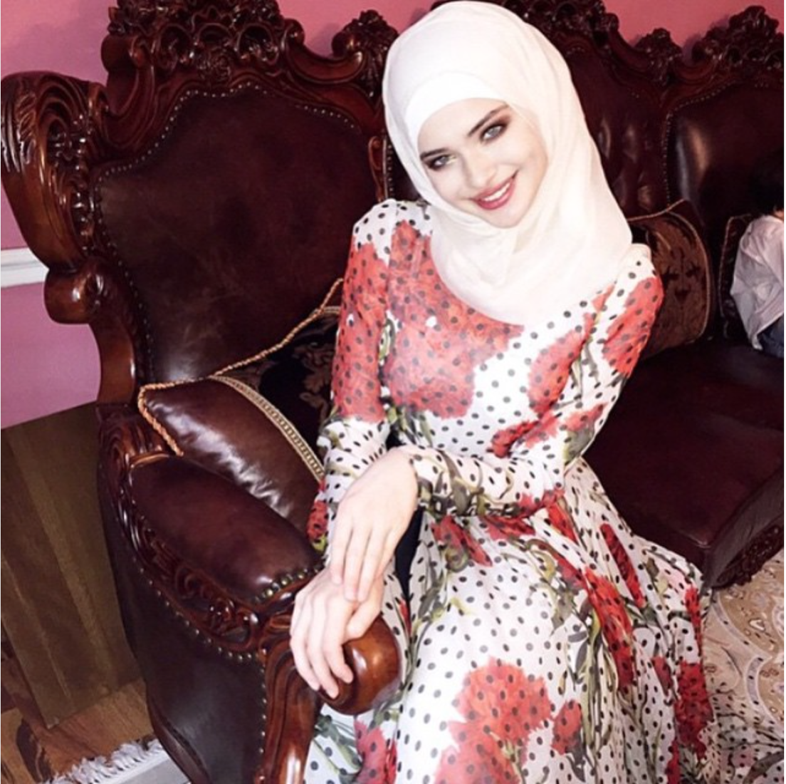 Секс чеченка в хиджабе