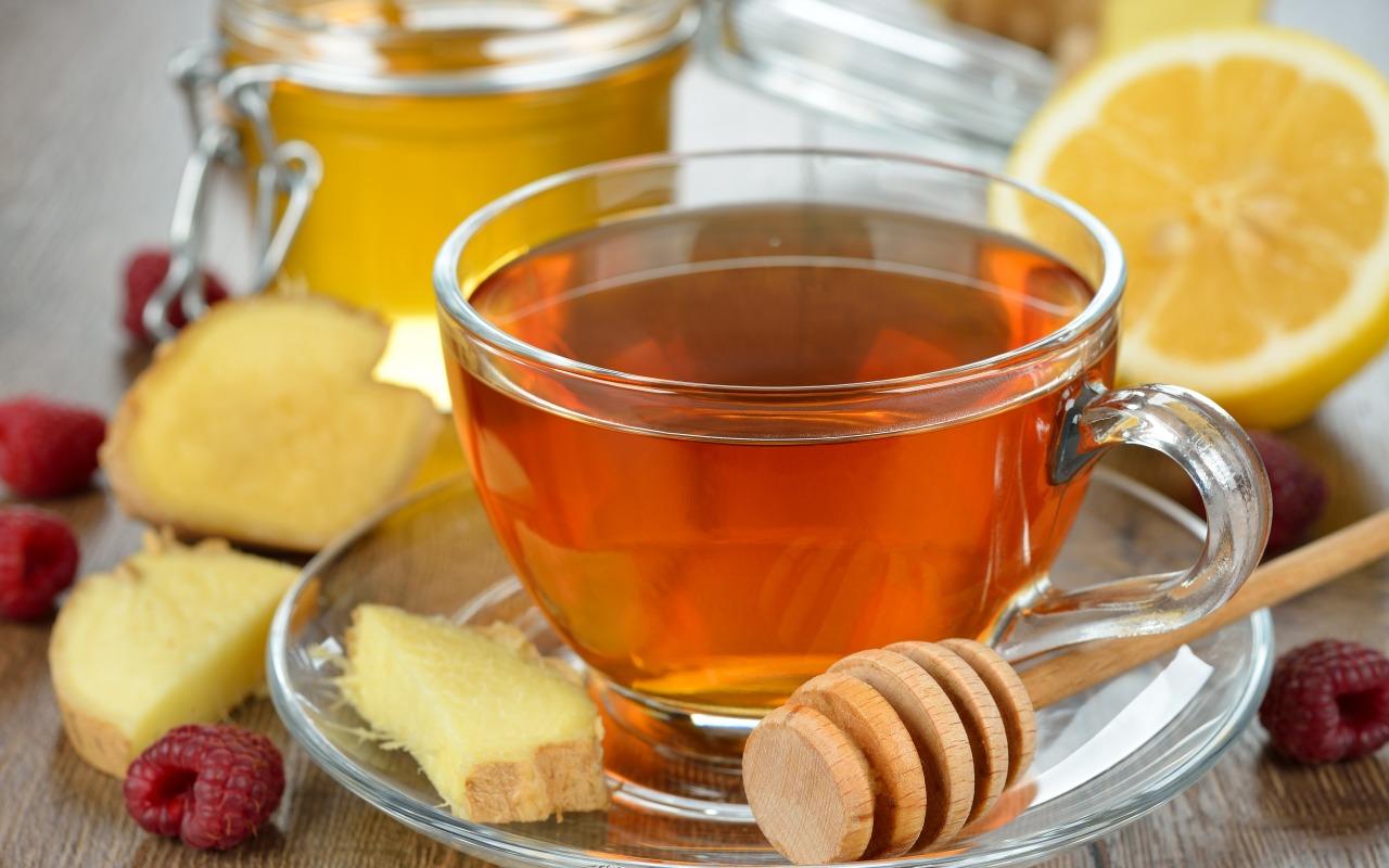 Зеленый чай или чай с имбирем?