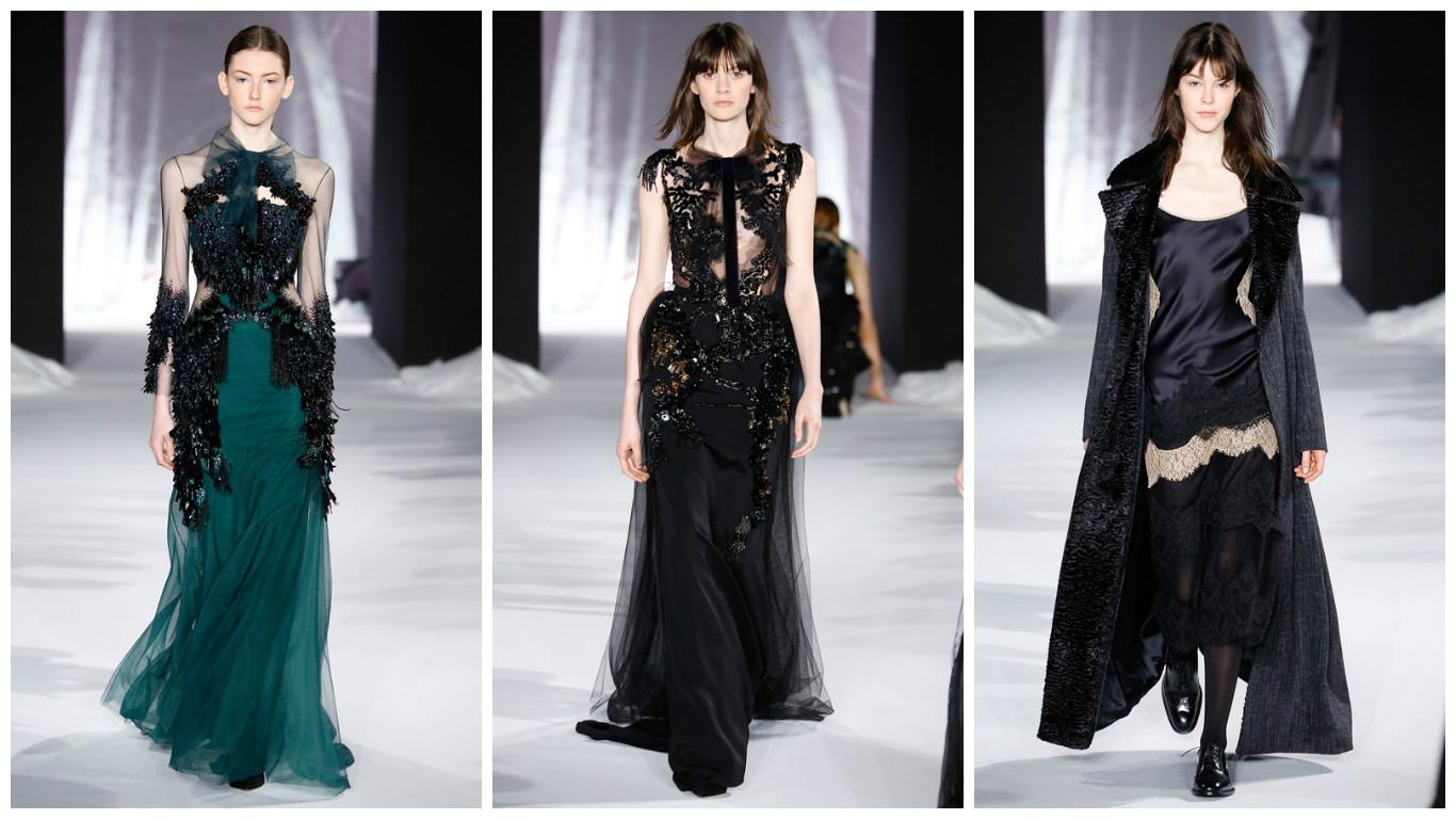 Валентин Юдашкин представил коллекцию одежды в Париже