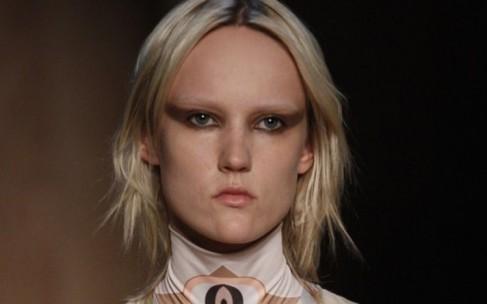 Мрачный шик на показе Givenchy