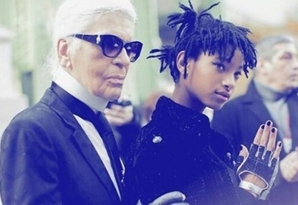 Карл Лагерфельд сделал амбассадором Chanel дочь Уилла Смита