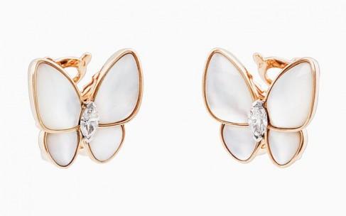 Van Cleef & Arpels встречает весну butterfly-коллекцией