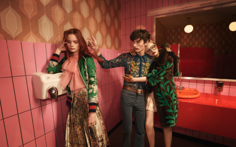 Gucci объединит показы мужской и женской коллекций