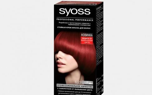 SYOSS усовершенствовал краску для волос сывороткой от вымывания цвета