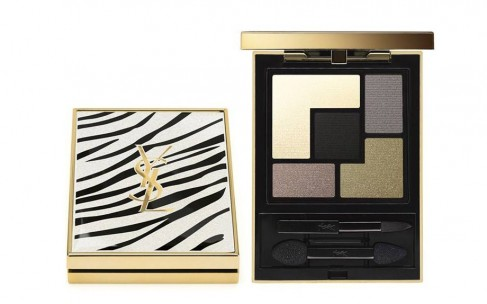 Мода на анималистику: YSL Exclusive Couture Palette Clash & White Summer 2016