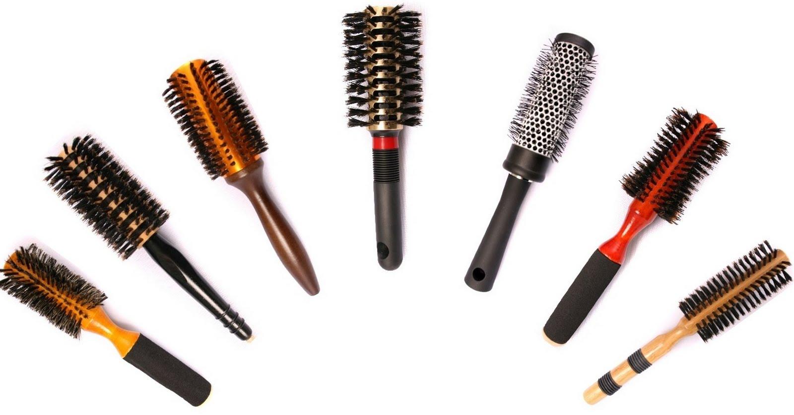 Круглые щетки для укладки волос