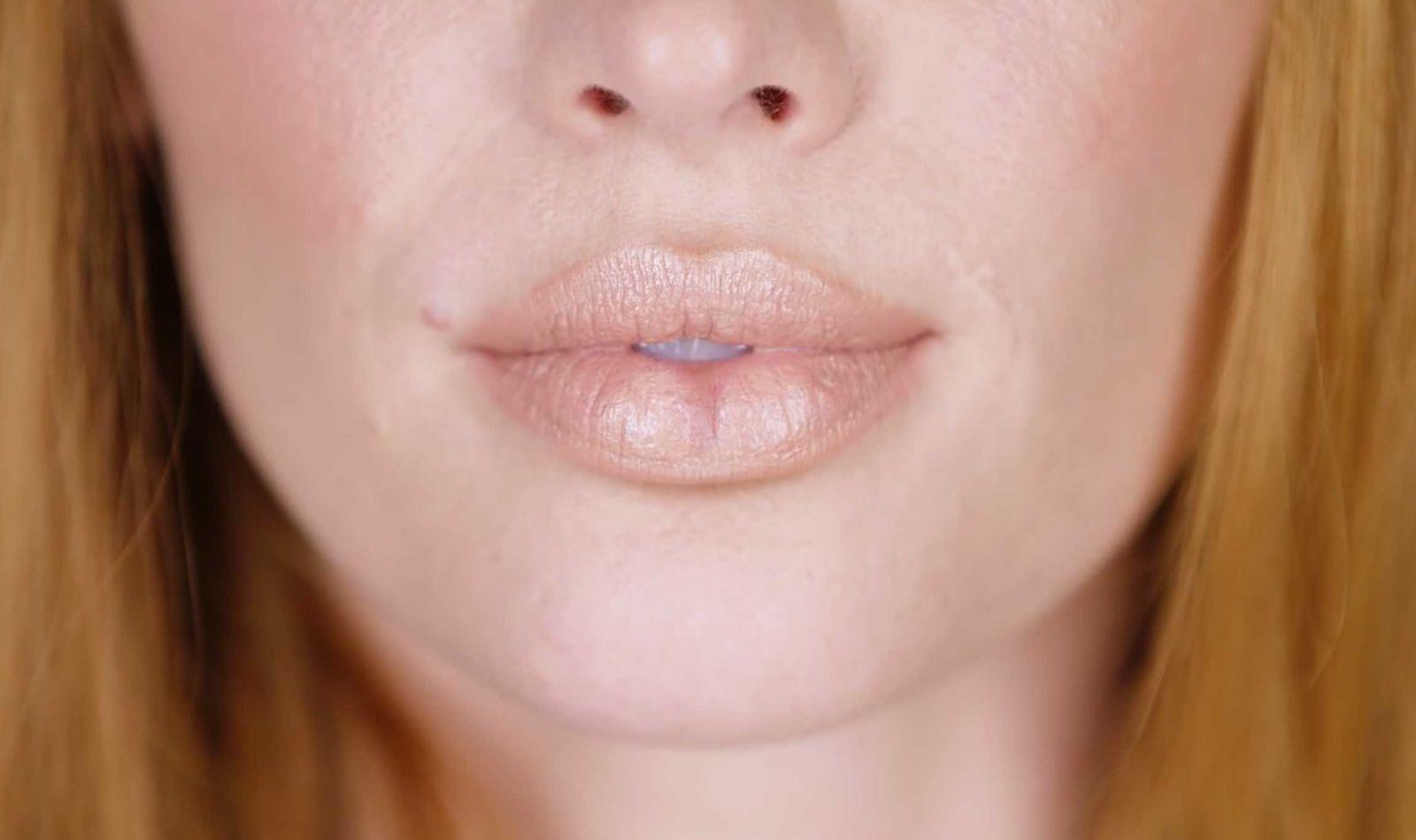 Макияж губ сделать пухлыми
