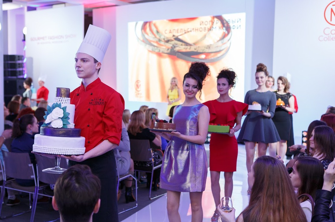 В гостинице Novotel Москва Сити состоялось Gourmet Fashion Show