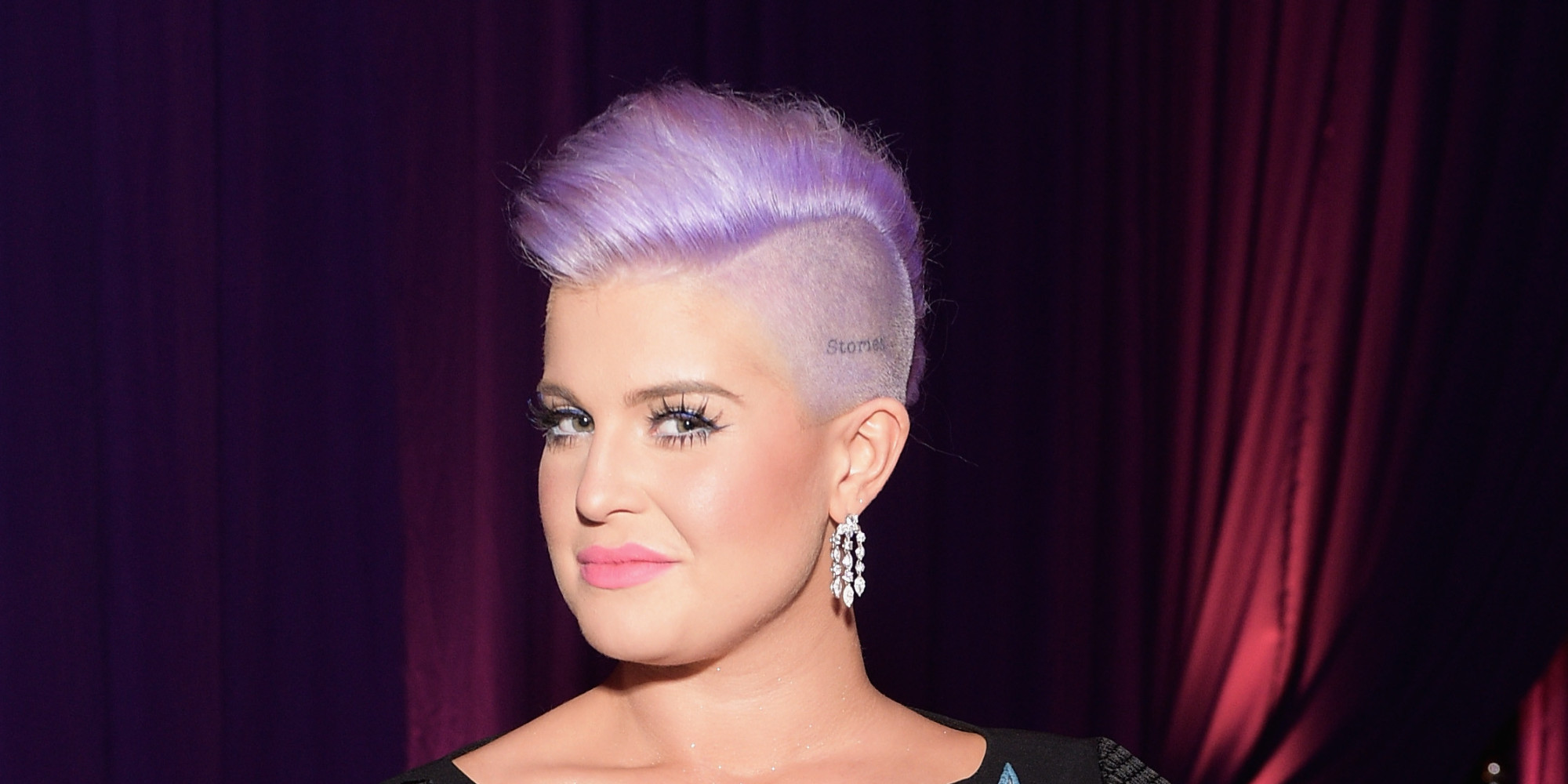 LOS ANGELES, CA - FEBRUARY 22:  Tv personality Kelly Osbourne, wearing Chopard, attends the 23rd Annual Elton John AIDS Foundation Academy Awards viewing party with Chopard on February 22, 2015 in Los Angeles, California.  (Photo by Stefanie Keenan/Getty Images for Chopard)