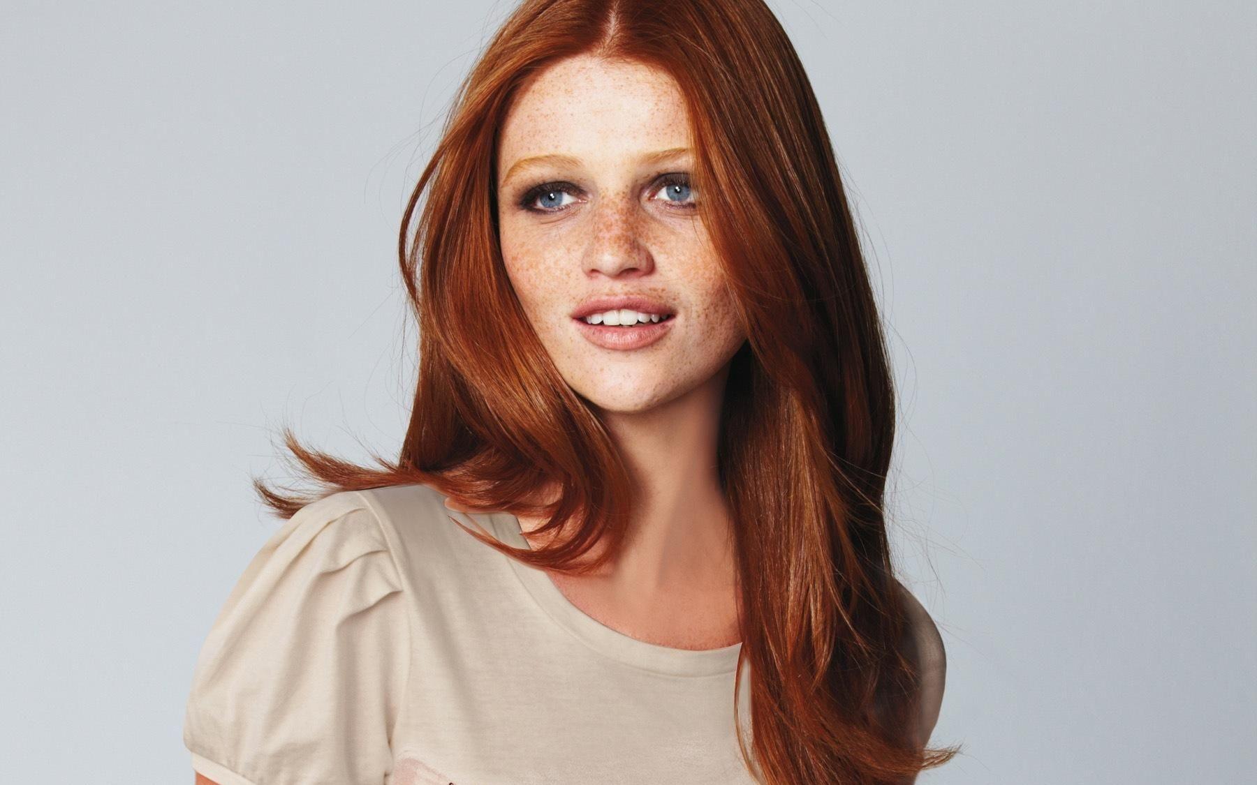 5 знаменитых моделей с рыжими волосами