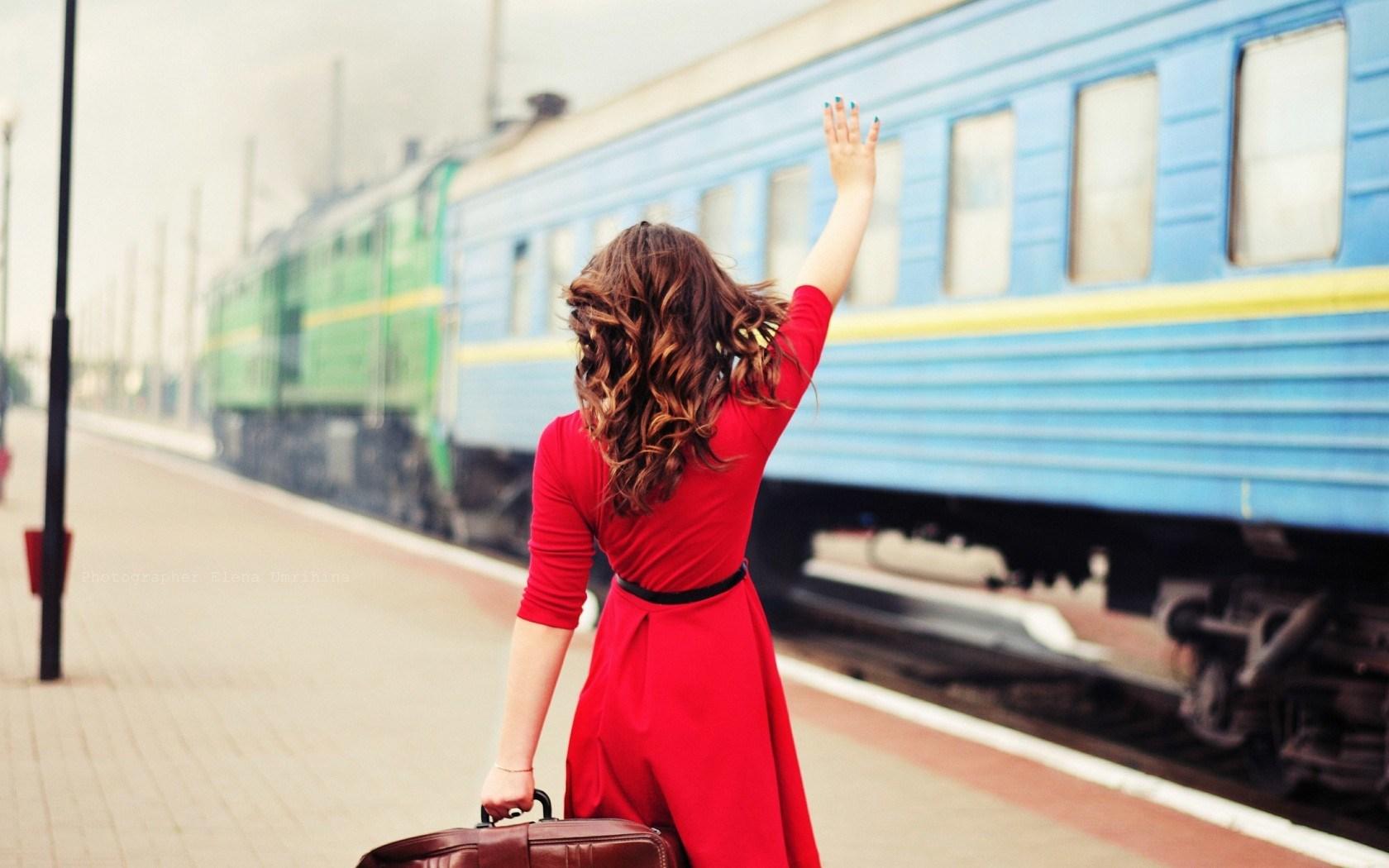 girl-red-dress-train-mood-hd-wallpaper