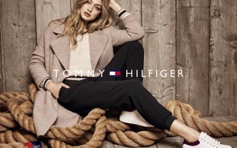 Джиджи Хадид в осенней кампании Tommy Hilfiger