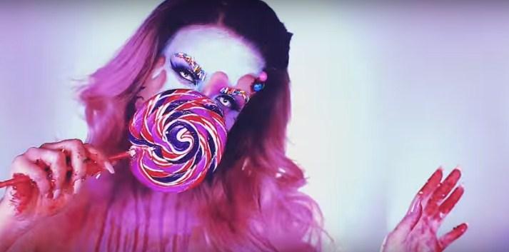 Этот Хэллоуин будет сладким: видеоурок необычного макияжа