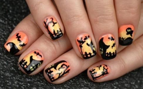 Как выбрать дизайн ногтей для Хэллоуина?
