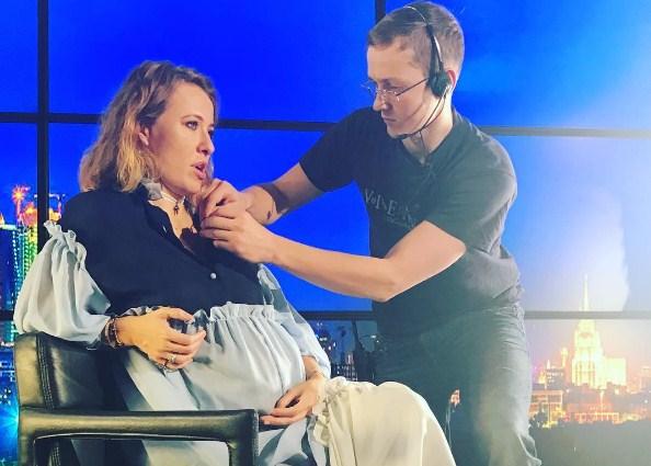 Собчак родила ребенка от виторгана 2018 фото