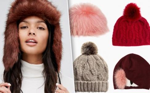 Самые современные шапки сезона