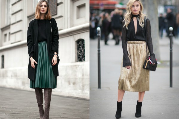 Лучший наряд для праздника: плиссированная юбка