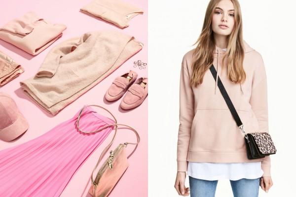 H&M и модная коллекция розового цвета