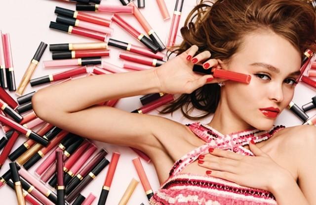 Lily-Rose Depp для Chanel