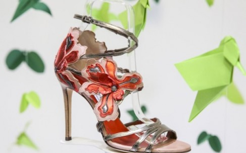 Обувь Jimmy Choo вдохновленная цветами