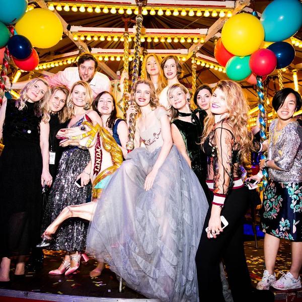 Наталья Водянова и вечер Fabulous Fair