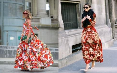 Цветочные платья к весне