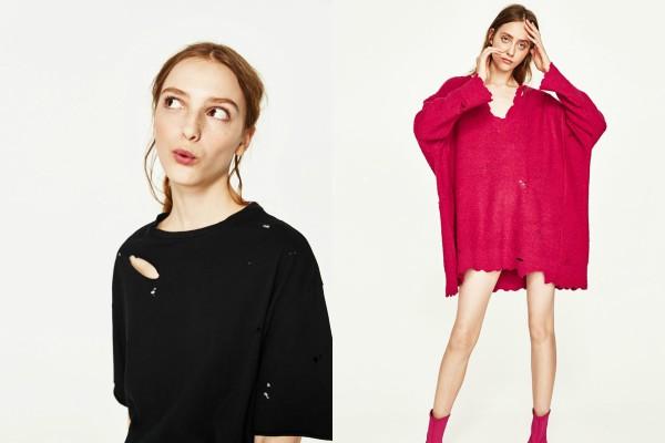 «Разорванная» одежда — модный весенний тренд