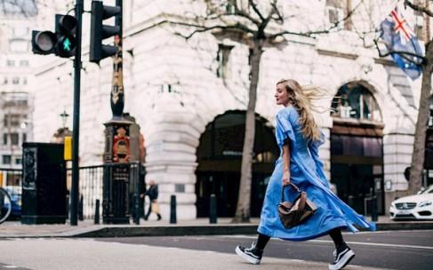 Street style лондонской Недели моды