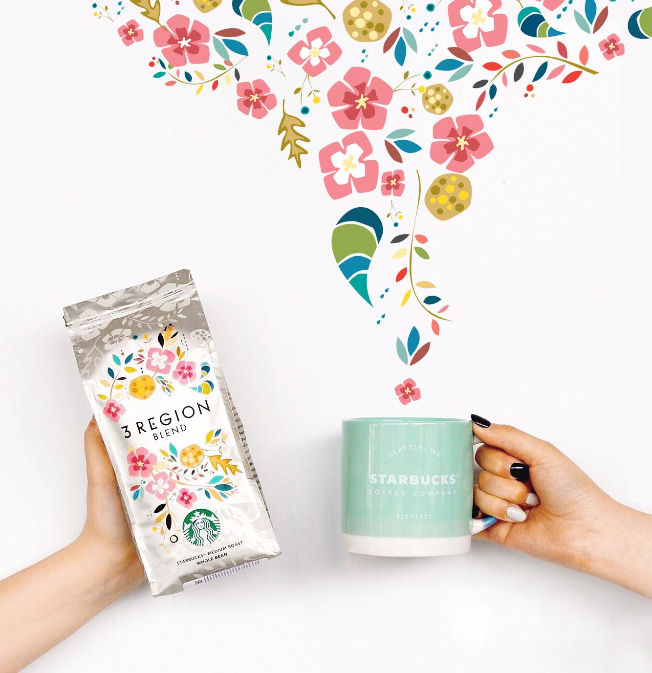 Подарки Starbucks – весна дома