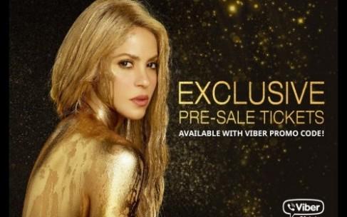 Viber и новый альбом Шакиры