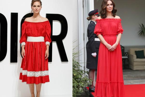 Тренд — красное платье