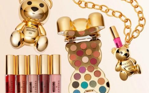 Коллекция макияжа Moschino