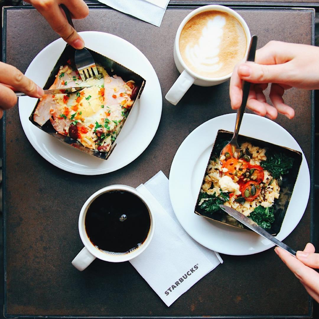 Завтраки в кофейне