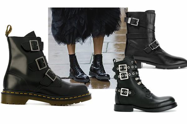 Армейские ботинки — хит сезона