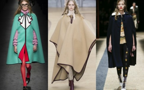Кейп вместо куртки и пальто