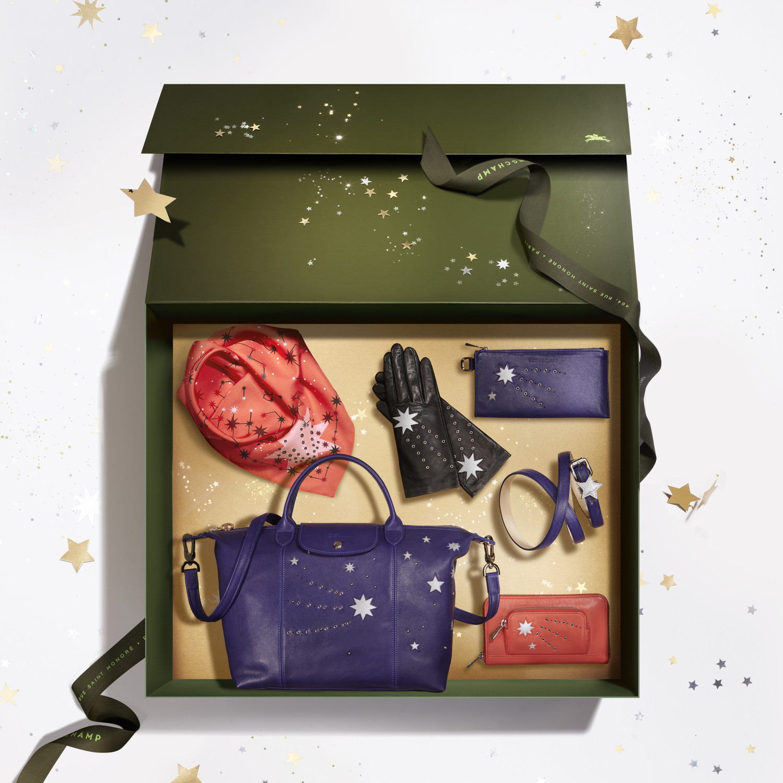 Рождественская коллекция Longchamp