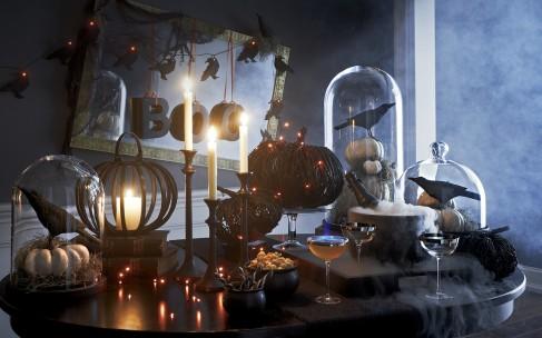 Украшение дома к Хэллоуину