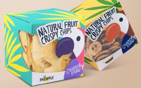 Фруктовые чипсы Crunchy crew