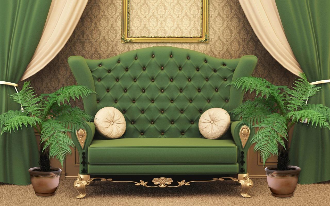 Модный цвет — зеленый
