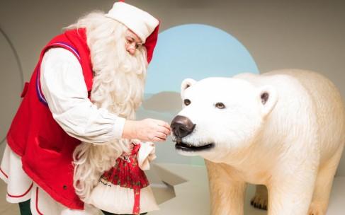 Санта-Клаус в Москве