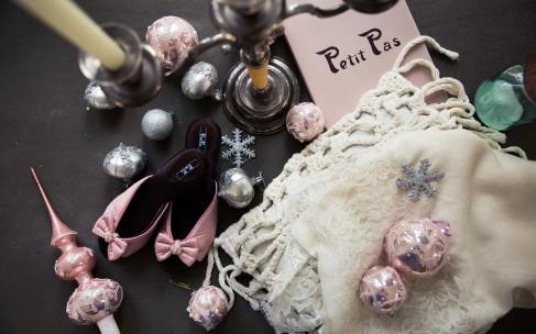 Пудрово-розовый и ванильный Petit Pas